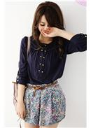 Extra Large~Trendy Pants (Color Blue)