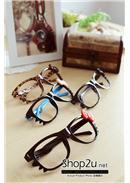特价~Hello Kitty无镜片框架眼镜(4色可选)