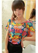 Chiffon Blouse(Colorful)