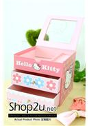 Special Offer~Hello Kitty 3 Layer Jewelry Box