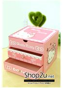 特价~Hello Kitty三层首饰收纳盒