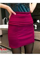 Cotton Skirt(Purple)