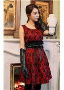 Lace Dress(Red)